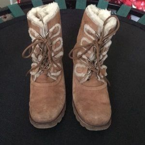 UGG Shoes - Lace up brown UGG boots